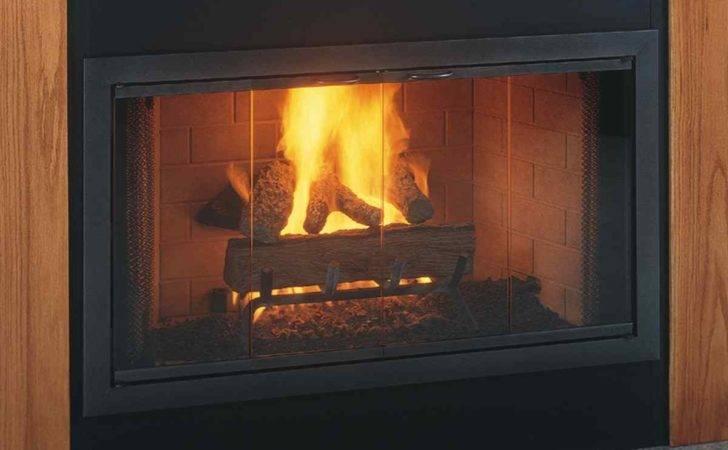 Brookfields Custom Made Glass Door Zero Clearance Fireplaces