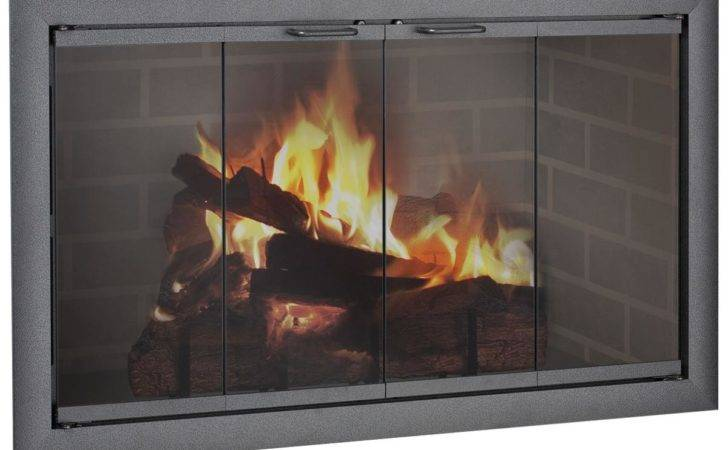 Brookfieldzc Bifold Glass Door Zero Clearance Fireplaces Shown