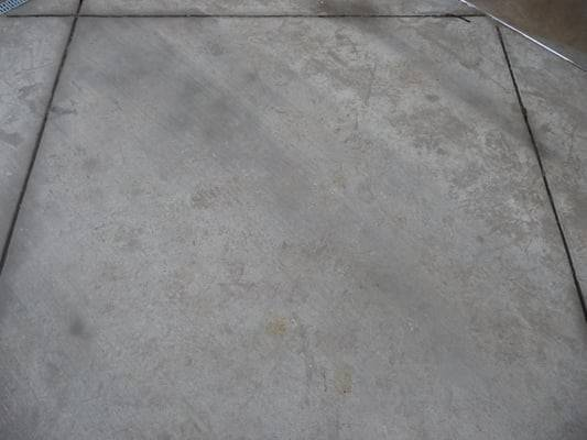 Broom Finished Concrete Before Sandblasting Yelp