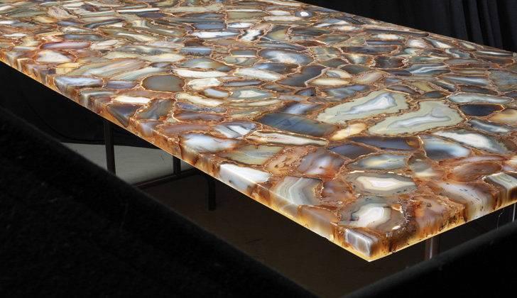 Brown Agate Seattle Granite Countertops Marble
