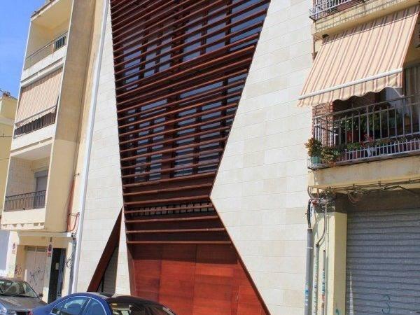 Brown Facade Design Ideas Modern Style Calabuig House Home
