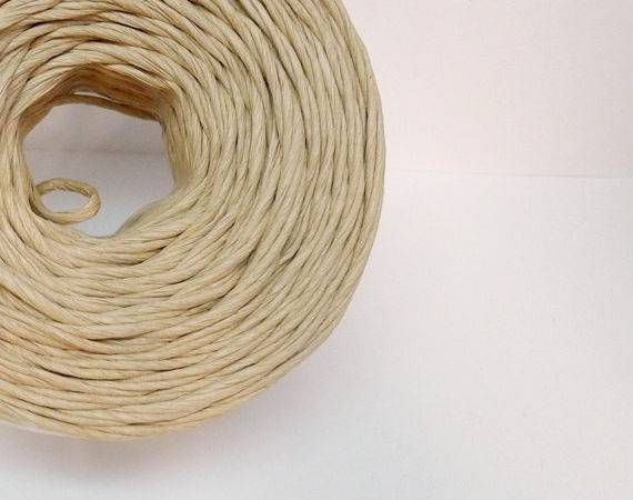 Brown Paper Twine Ribbon Gift Wrap Packaging Roll