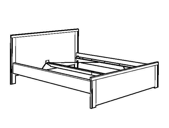 Brusali Bed Frame Brown Nset Ikea United States Ikeapedia