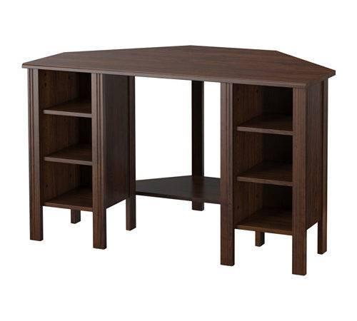 Brusali Corner Desk Ikea Can Customize Your Storage Needed