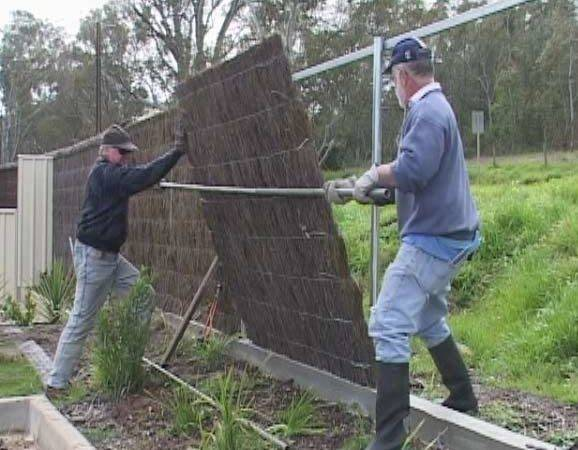 Brushwood Fencing Panel Installer Contractor Contact Details