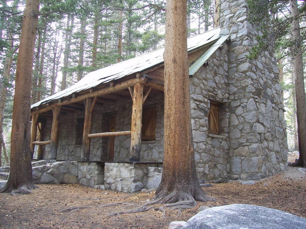 Buat Testing Doang Build Stone Cabin