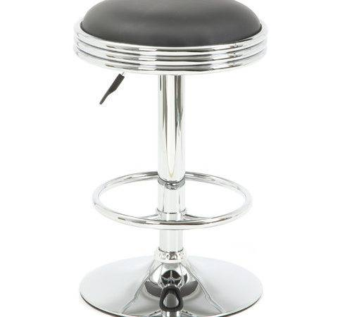 Buffalo Tools Soda Fountain Adjustable Height Bar Stool Cushion