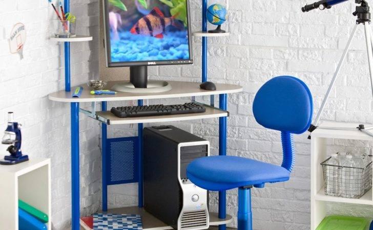 Bug Corner Study Desk Chair Blue Hayneedle