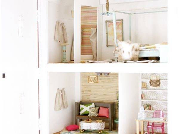 Build Barbie Doll House Woodworking Projects Plans