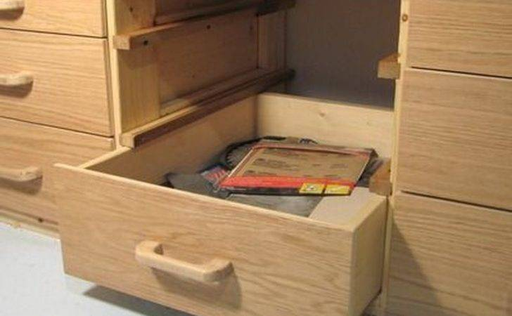 Build Bookshelf Drawers Cabinets