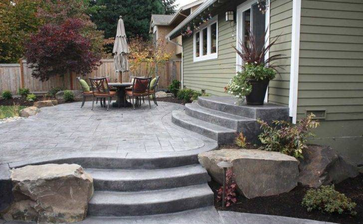 Build Concrete Patio Easy Steps Diy Slab