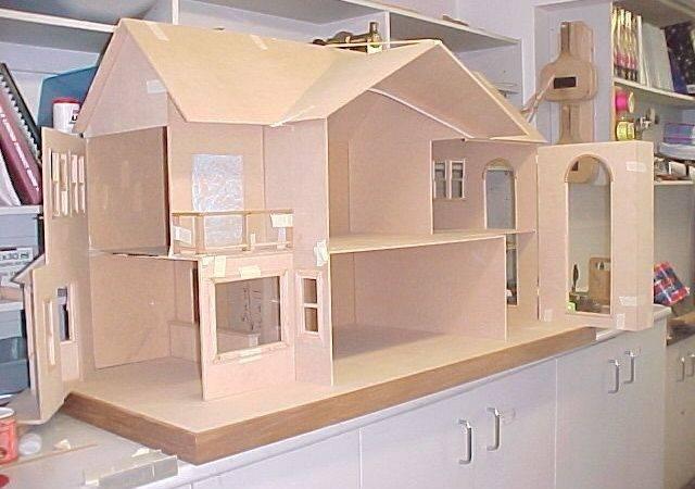Build Dollhouse Scratch Design Ideas