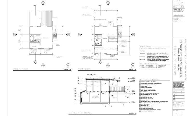 Build Garage Conversion Drawings Pdf Plans