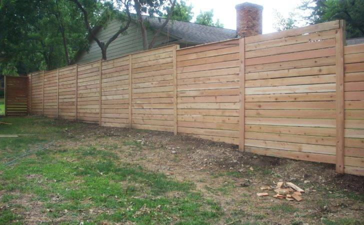 Build Horizontal Wood Fence Galleryhip