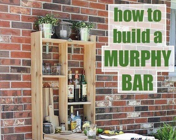 Build Murphy Bar Desk Awesome Summer
