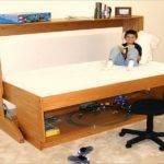 Build Murphy Bed Desk Plans Kids