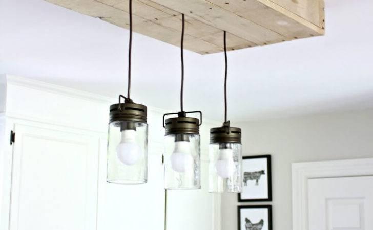 Build Pallet Light Box Your Kitchen Island