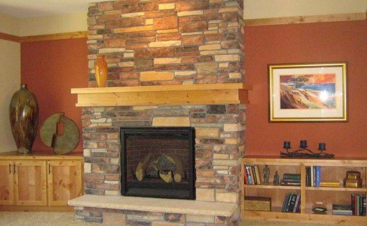 Build Rustic Stone Fireplaces Part