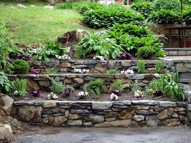 Build Tiered Garden Walls Tos Diy