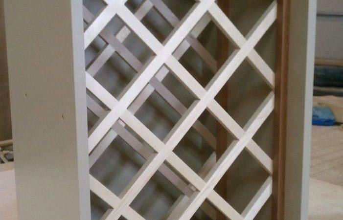 Build Wine Rack Lattice Woodworking Projects Plans