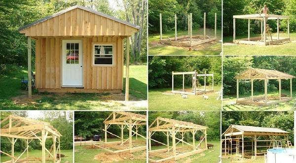 Build Wood Cabin Budget Home Design Garden