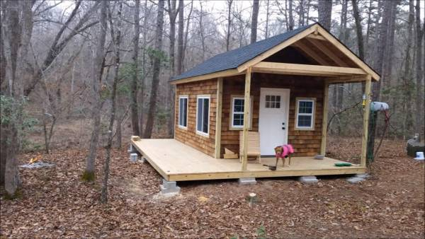Build Your Own Tiny Cabin