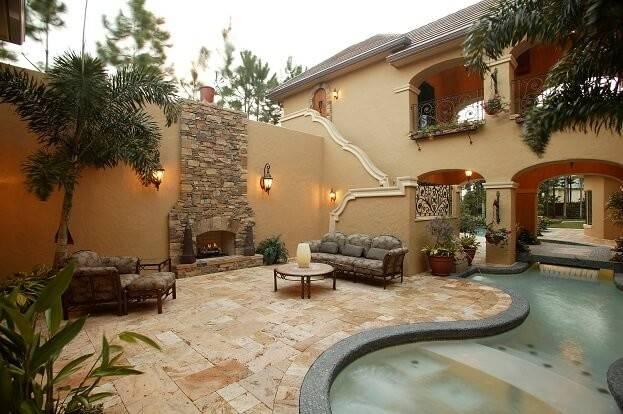 Building Mexican Themed Garden Backyard