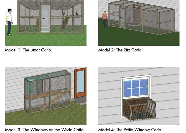 Building Plans Outside Cat House Unique