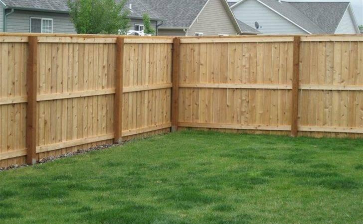 Building Plans Wooden Fence Fences