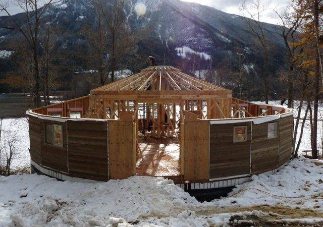 Building Round Houses Home Construction Less Waste