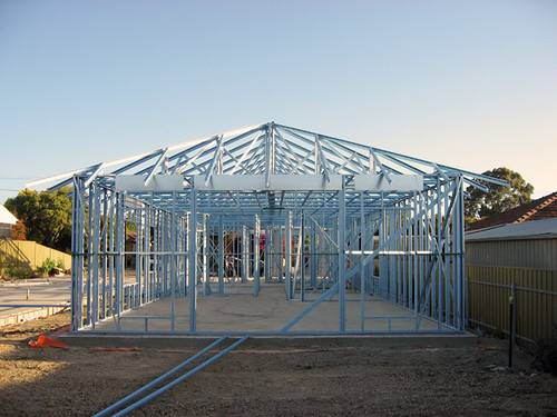 Building Small House Steel Framing Cozy Home Plans