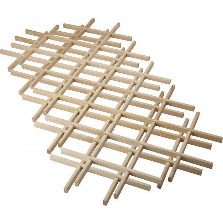 Building Wine Rack Lattice Plans Diy Woodworking News