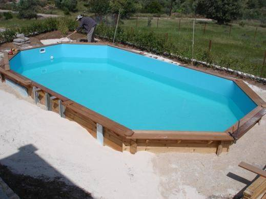 Building Wooden Swimming Pool Series Interline Products