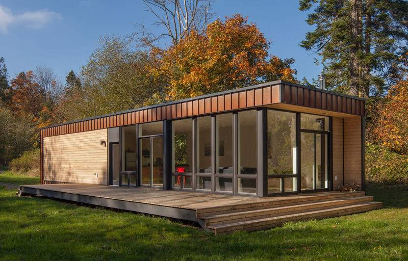 Buildings Source Trendhunter Trends Small Prefab Home
