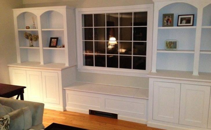 Built Bookcases Window Seat Dbuonomano Lumberjocks