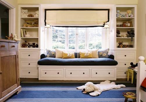Built Daybed Contemporary Boy Room Peter Dunham Design