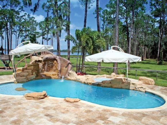 Built Diy Ground Pool Deck Swimming Pin