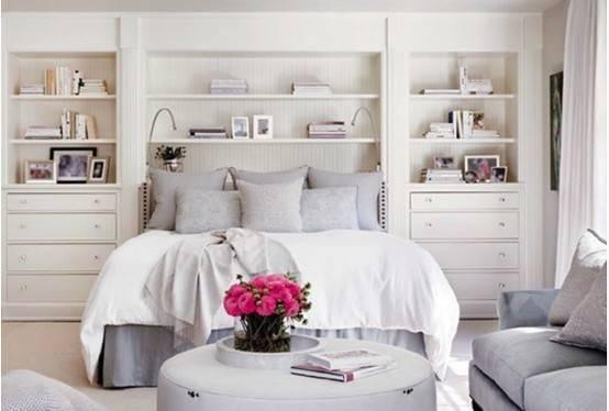 Built Shelving Around Bed Headboard Nesting Pinterest