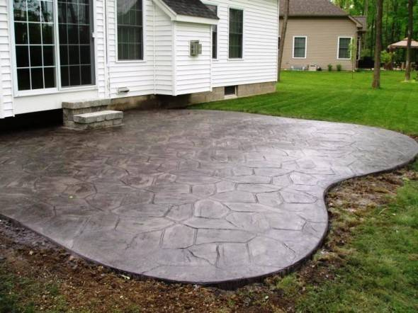 Bunch Reasons Choose Concrete Patio Your