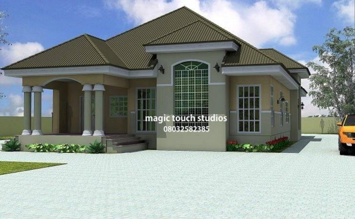 Bungalow Bedroom Ideas House Plan Nigeria
