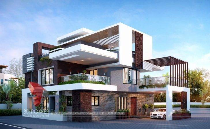 Bunglow Design Architectural Rendering Services