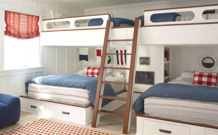 Bunk Bed Ideas Bedroom Beach Built Beds
