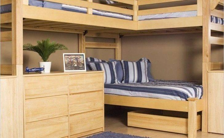 Bunk Bed Plans Triple Woodworking Ideas Ebook