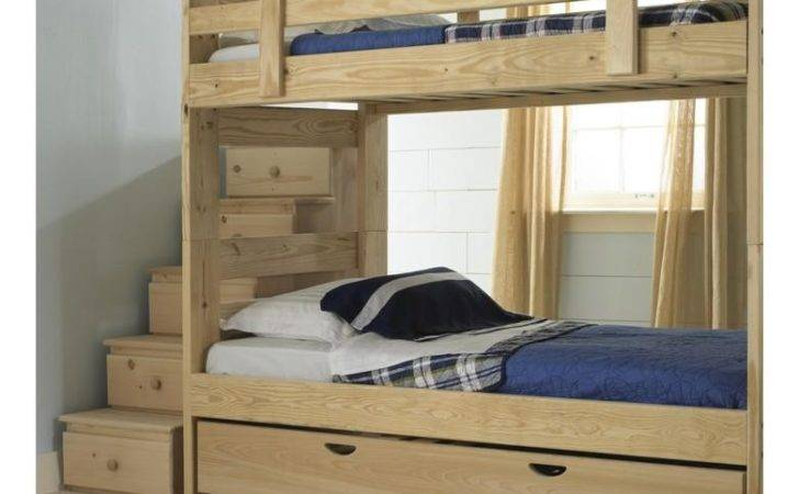 Bunk Bed Plans Trundle Pdf Building Wood Walkway