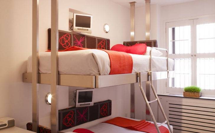 Bunk Beds Created Pod Hotel New York City