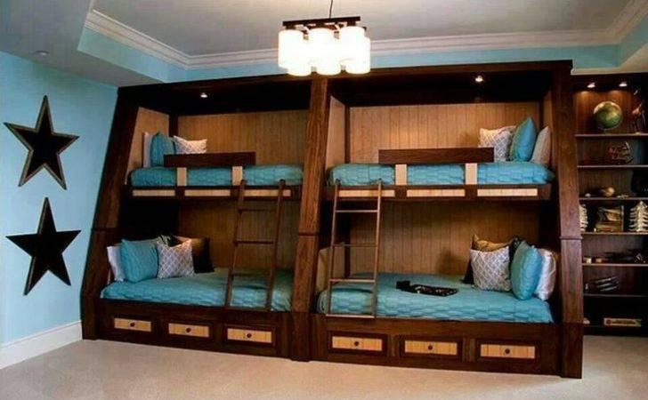 Bunk Beds Dark Wood Boat Interior Decorating Pinterest Bed
