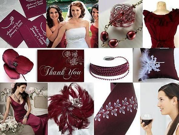 Burgundy Inspiration Boards Maroon Wedding Pinterest