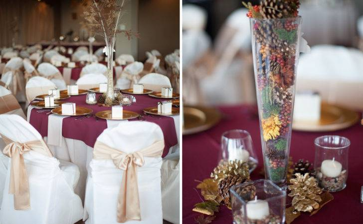 Burgundy Silver Wedding Theme Car Interior Design