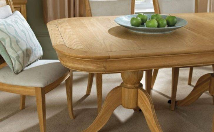 Buy Bentley Designs Chantilly Oak Dining Table Seater Extending