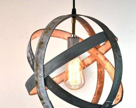 Buy Hand Made Atom Wine Barrel Ring Light Order